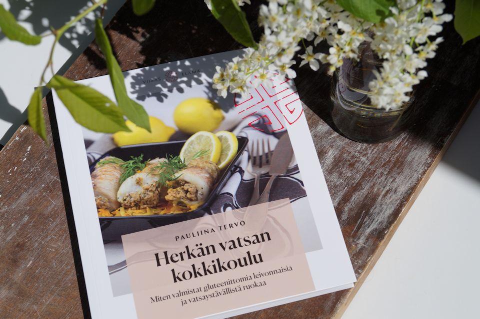 Herkan vatsan kokkikoulu ruokakirja