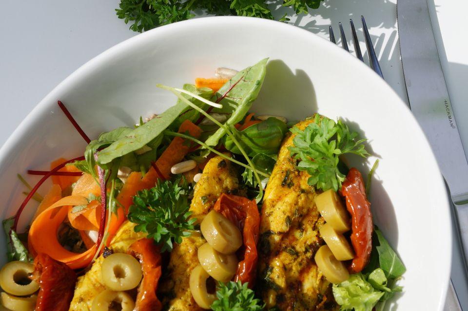 grillattu kana ja valimerellinen salaatti7